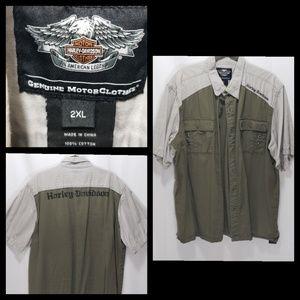Harley Davidson Short Sleeve 2XL